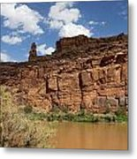 Upper Colorado River View Metal Print