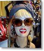 Upper East Side Lady Metal Print