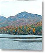 Upper Lake Toxaway In The Fall 2 Metal Print