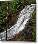 Upper Little Falls Metal Print