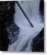 Upper Twin Falls Close Metal Print