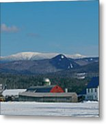 Upper Valley Farm Metal Print