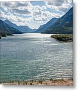 Upper Waterton Lake Metal Print