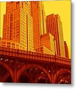 Upper West Side And Hudson River Manhattan Metal Print