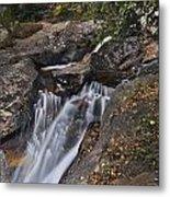 Uppre Chasm Falls Metal Print