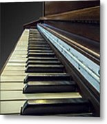 Upright Metal Print