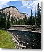 Upriver In Washake Wilderness Metal Print