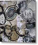 Upside Down And Inside Out Metal Print