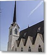 Upstate Church Metal Print
