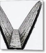 Upward Wedge Metal Print
