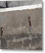 Urban Abstract Construction 4 Metal Print