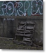 Urban Artistry One Metal Print