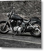 Urban Bike 001 Metal Print