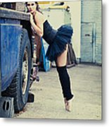 Urban Dancer Metal Print