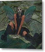 Urban Fairy Metal Print