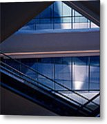 Urban Geometry Metal Print