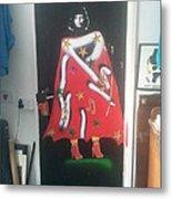 Urban Gorrilla Gay Guevara With Gun And Holster Metal Print