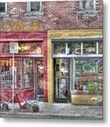 Urban Mercyseat Oil Painting Metal Print