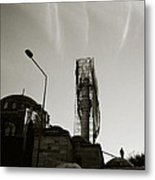Urban Mosque Metal Print