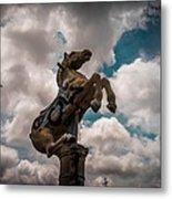 Urban Sky Horse Metal Print