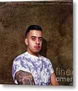 Urban Tattoos Metal Print