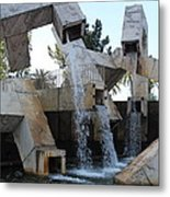 Urban Waterworks Metal Print