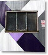 Urban Window- Photography Metal Print