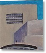 Urn On The Guggenheim Metal Print