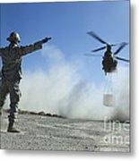 U.s. Air Force Master Sergeant Guides Metal Print