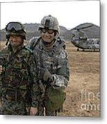 U.s. Army Commander, Right Metal Print