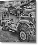 Us Army Troop Carrier Metal Print
