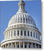 Us Capitol Dome Metal Print
