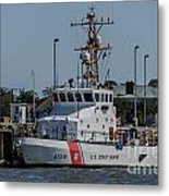Us Coast Guard Yellowfin Metal Print