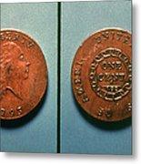 U.s. Coin, 1793 Metal Print