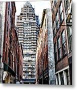 Us Customs House Philadelphia Metal Print