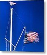 Us Flag 19749 Metal Print