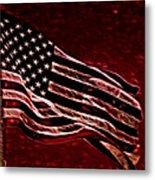 Us Flag Metal Print