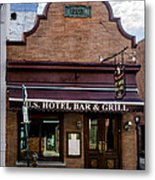 Us Hotel Bar And Grill - Manayunk  Metal Print