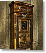 Us Mail Letter Box Metal Print