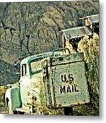 Us Mail Metal Print