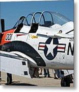 Us Navy Plane 001 Metal Print