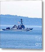 U.s. Navy Ship Metal Print
