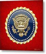 Presidential Service Badge - P S B Metal Print