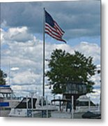 Usa Flag 10 Metal Print