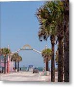 Usa, Florida, New Smyrna Beach, Flagler Metal Print