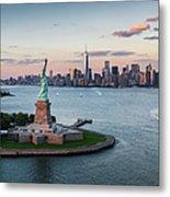 Usa, New York State, New York City Metal Print