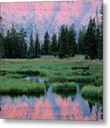 Usa, Utah, High Uintas Wilderness Metal Print