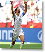 Usa V Japan Final - Fifa Womens World Metal Print