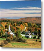 Usa, Vermont, Northeast Kingdom, View Metal Print