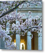 Usa, Washington Dc, Jefferson Memorial Metal Print